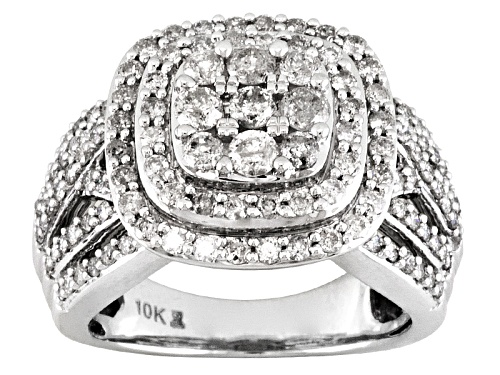 Photo of 2.00ctw Round White Diamond 10k White Gold  Ring - Size 8