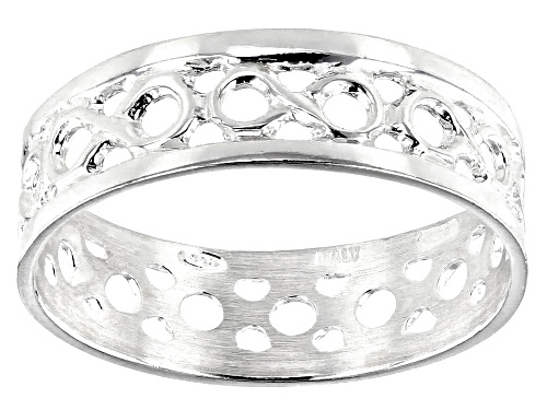 Photo of Sterling Silver Infinity Ring - Size 7
