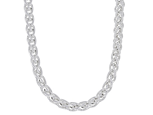 Photo of Sterling Silver Wheat Chain Necklace 18 Inch - Size 18