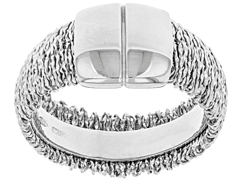 Photo of Sterling Silver Wrapped Ring - Size 12