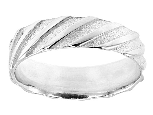 Photo of Sterling Silver Symmetric Braided Ring - Size 8