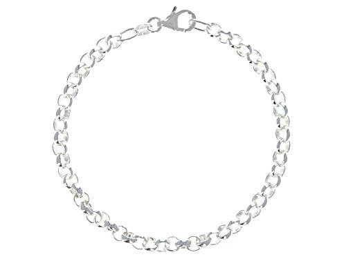 Photo of Sterling Silver 4.61MM Rolo Bracelet - Size 7.25