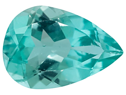 Photo of Madagascan Paraiba color Apatite min 1.50ct 10x7mm pear shape