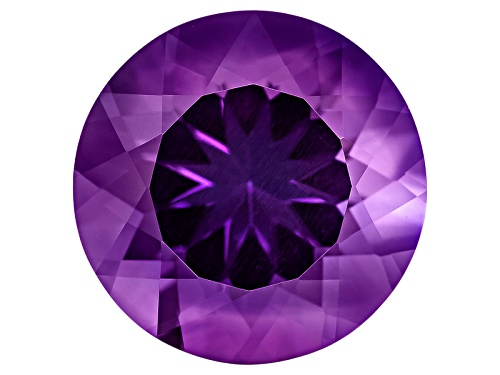 Photo of Untreated Amethyst Avg 8.00ct 14mm Round