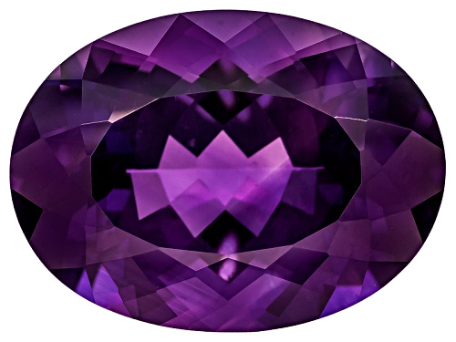 Photo of Untreated Amethyst Avg 12.25ct 19x14mm Oval