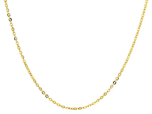 Photo of 14k Yellow Gold 1.6mm Cable 20 Inch Chain Necklace - Size 20
