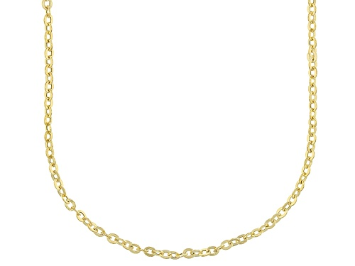 Photo of 14k Yellow Gold 2.0mm Cable 20 Inch Chain Necklace - Size 20