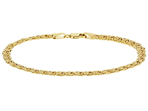 Photo of 10k Yellow Gold Rosetta 7 1/2 Inch Bracelet - Size 7.5