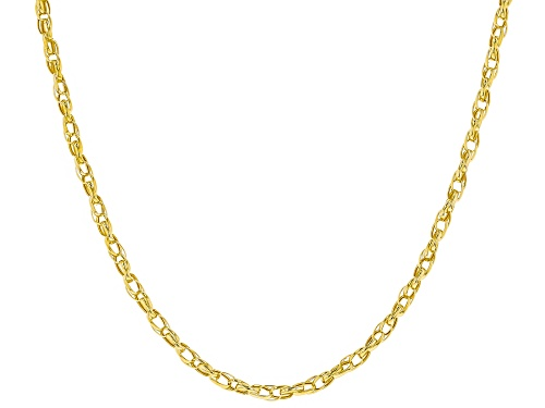 Photo of 10k Yellow Gold 2.00mm Multi Cable 18 inch Chain Necklace - Size 18