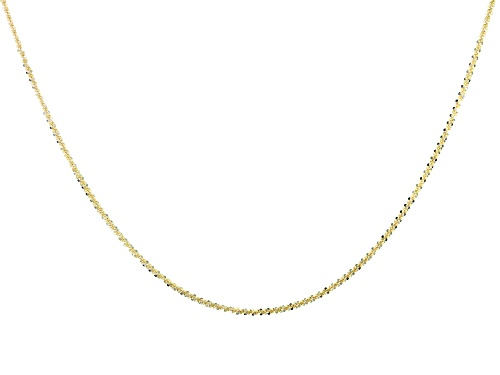 Photo of 10k Yellow Gold Designer Criss Cross 24 inch Necklace