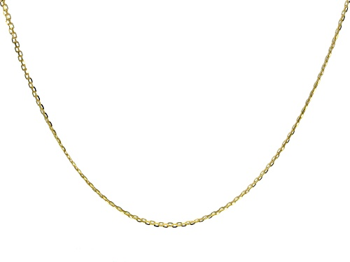 10K Yellow Gold 1.90MM Bismark Chain Necklace 20 Inch - Size 20