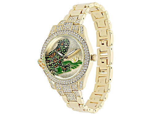 Photo of Off Park Collection ™ Multicolor Crystal Yellow Frog Watch