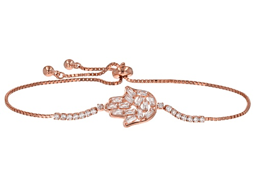 Photo of Bella Luce ® 3.05ctw Rhodium Over Sterling Silver Adjustable Bracelet (1.82ctw Dew)