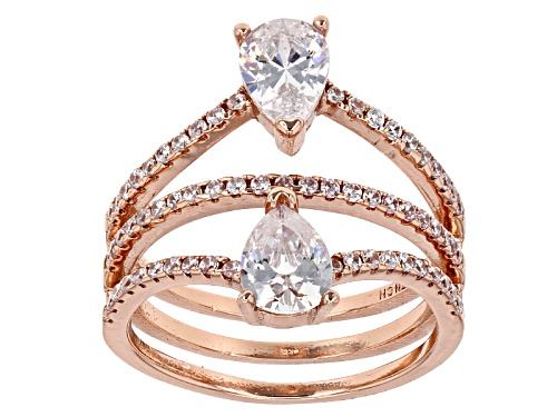 Photo of Bella Luce ® 2.87ctw Eterno ™ Rose Ring (1.73ctw Dew) - Size 8