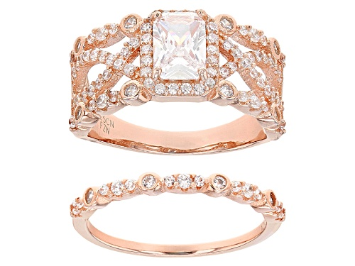 Photo of Bella Luce ® 2.86ctw Eterno ™ Rose Ring With Band (1.75ctw Dew) - Size 11