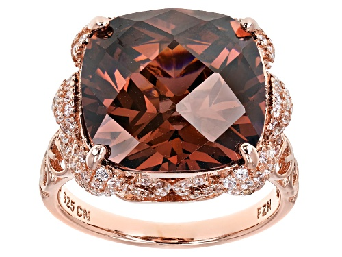 Photo of Bella Luce ® 18.44CTW Esotica ™ Blush Zircon & White Diamond Simulants Eterno ™ Rose Ring - Size 5