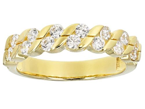 Photo of Bella Luce ® 1.06CTW White Diamond Simulant Eterno ™ Yellow Ring (0.56CTW DEW) - Size 7