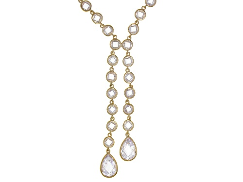 Photo of Bella Luce ® 68.58ctw White Diamond Simulant Eterno™ Yellow Y Necklace - Size 22