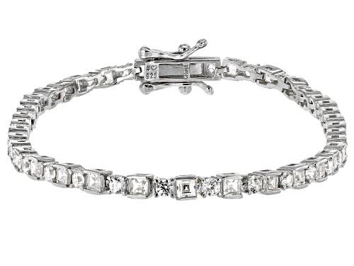 Photo of Bella Luce ® White Diamond Simulant Rhodium Over Sterling Silver Tennis Bracelet - Size 8