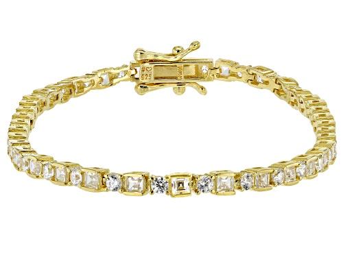 Photo of Bella Luce ® 5.70ctw White Diamond Simulant Eterno™ Yellow Tennis Bracelet (2.59ctw DEW) - Size 8