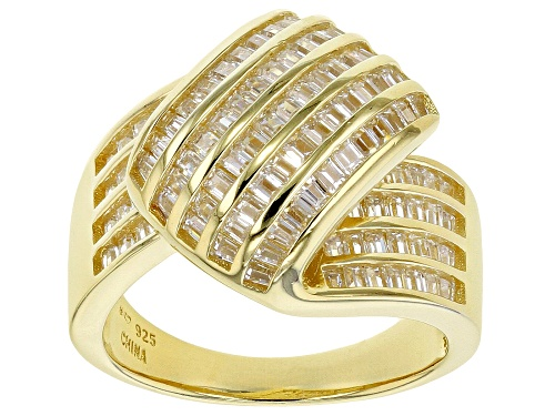 Photo of Bella Luce ® 2.60ctw White Diamond Simulant Eterno™ Yellow Ring - Size 5