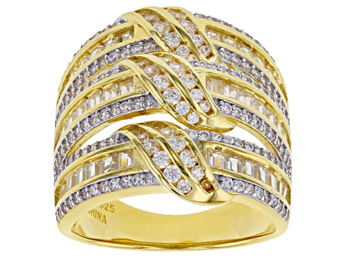 Photo of Bella Luce ® 4.28ctw White Diamond Simulant Eterno™ Yellow Ring (2.51ctw DEW) - Size 5