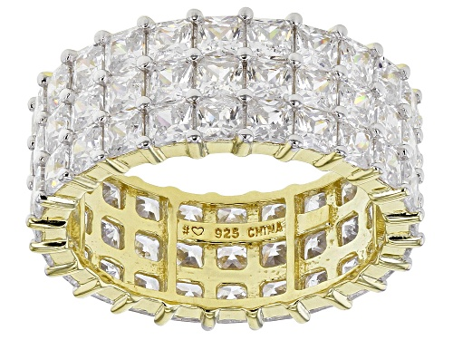 Photo of Bella Luce ® 11.59ctw White Diamond Simulant Eterno™ Yellow Eternity Band Ring (7.20ctw DEW) - Size 7