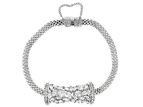 Photo of Bella Luce ® 5.15ctw Rhodium Over Sterling Silver Bracelet (2.60ctw DEW) - Size 7