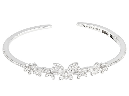 Photo of Bella Luce ® 1.51ctw Rhodium Over Sterling Silver Butterfly Bracelet (0.80ctw DEW) - Size 6