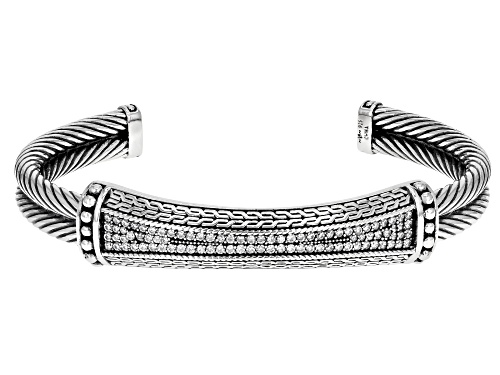Photo of Bella Luce ® 0.94ctw Rhodium Over Sterling Silver Bracelet (0.54ctw DEW) - Size 5