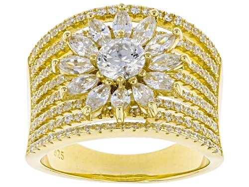 Photo of Bella Luce ® 3.79ctw Eterno™ Yellow Ring (2.98ctw DEW) - Size 7