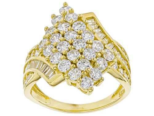 Photo of Bella Luce ® 3.51ctw Eterno™ Yellow Ring (1.89ctw DEW) - Size 8