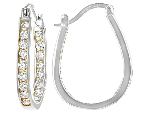 Photo of Bella Luce ® 3.75ctw Rhodium And 14K Yellow Gold Over Sterling Silver Earrings (2.16ctw DEW)