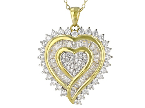 Photo of Bella Luce ® 3.49ctw Eterno™ Yellow Heart Pendant With Chain (1.84ctw DEW)