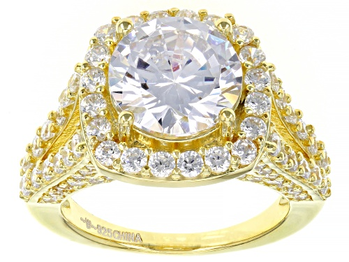 Photo of Bella Luce ® 8.68ctw Eterno™ Yellow Ring (5.63ctw DEW) - Size 7