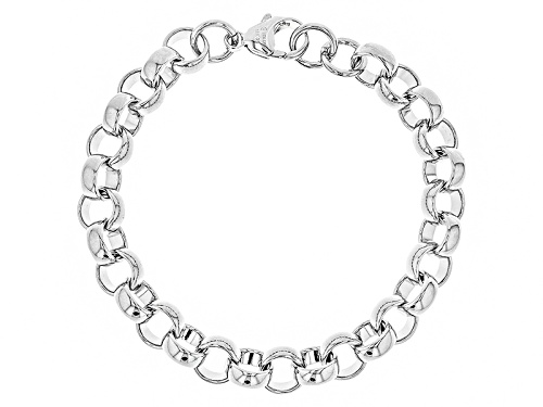 Photo of Moda Al Massimo® Rhodium Over Bronze Rolo Link 8 Inch Bracelet