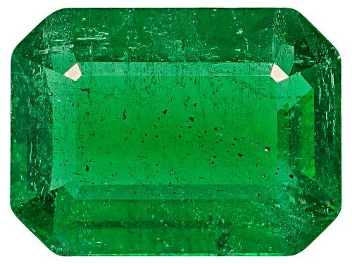 Photo of Brazilian emerald 1.42ct 8.3x6.2mm emerald cut