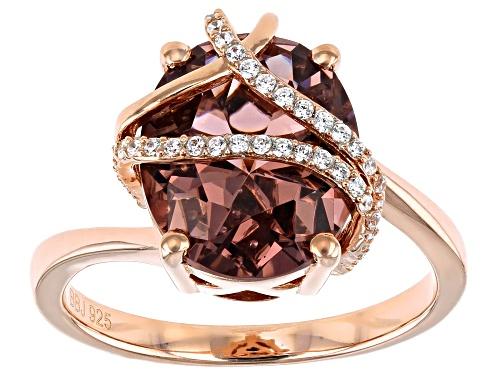 Photo of Bella Luce ® 5.10ctw Esotica™ Blush Zircon And White Diamond Simulants Eterno™ Rose Ring - Size 8