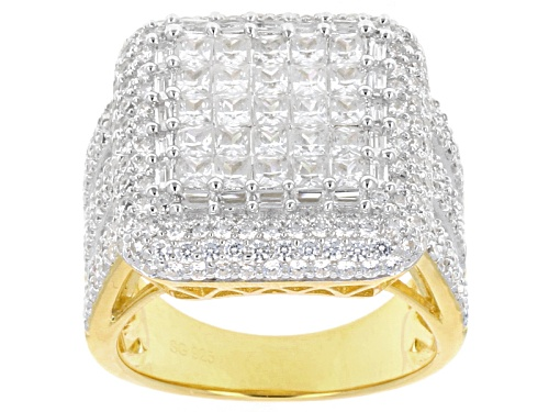 Photo of Bella Luce ® 9.86ctw 18k Yellow Gold Over Sterling Silver Ring - Size 6