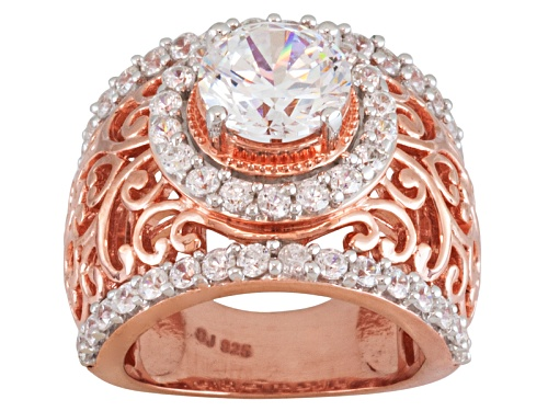 Photo of Bella Luce ® 5.96ctw Round Eterno™ Rose Ring - Size 7