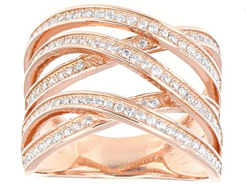 Photo of Bella Luce ® 1.33ctw Round Eterno ™ Rose Ring - Size 5