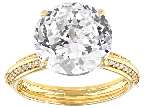 Photo of Bella Luce ® 12.62ctw Eterno Yellow Ring (7.16ctw DEW) - Size 11