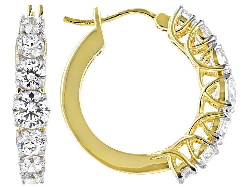 Photo of Bella Luce ® 5.48ctw Eterno ™ Yellow Hoop Earrings (3.04ctw DEW)