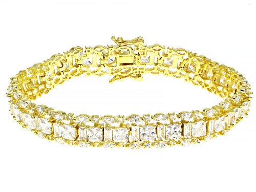 Photo of Bella Luce ® 33.14ctw White Diamond Simulant Eterno™ Yellow Tennis Bracelet (21.31ctw DEW) - Size 8