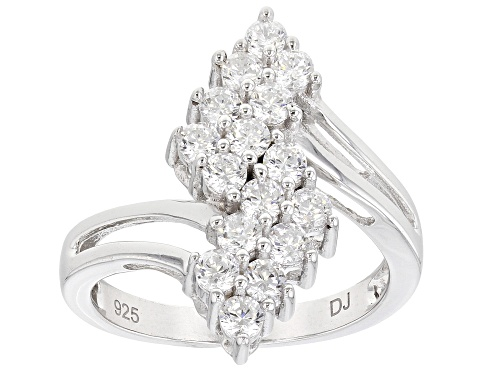 Photo of Bella Luce ® 1.97ctw Rhodium Over Sterling Silver Ring (0.96ctw DEW) - Size 6