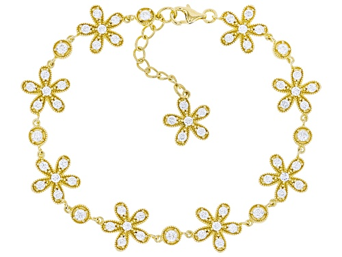 Photo of Bella Luce ® 6.33ctw Eterno ™ Yellow Flower Bracelet (2.80ctw DEW) - Size 8