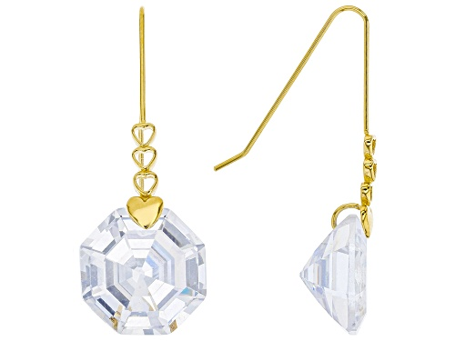 Photo of Bella Luce ® 30.66ctw Eterno ™ Yellow Solitare Dangle Earrings
