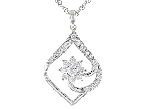 Photo of Bella Luce ® 2.45ctw Rhodium Over Sterling Silver Pendant With Chain (1.37ctw DEW)