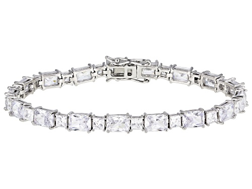 Photo of Bella Luce ® 30.33ctw Rhodium Over Sterling Silver Bracelet (21.31ctw DEW) - Size 8