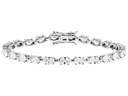 Photo of Bella Luce ® 13.65ctw White Diamond Simulant Rhodium Over Sterling Tennis Bracelet (8.75ctw DEW) - Size 8